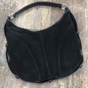 The Limited Suede Hobo Bag